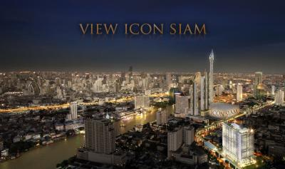 Sale DownCondoWongwianyai, Charoennakor : Luxury condo sales, View Icon Siam, the most outstanding view