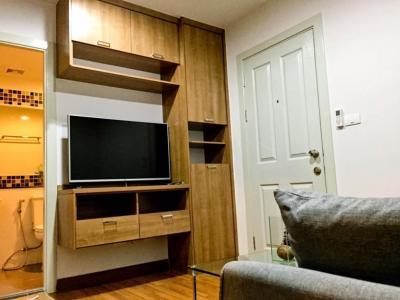 For RentCondoRattanathibet, Sanambinna : C395 For rent Regent Home 25 Tiwanon, next to Ministry of Public Health MRT # 2, built-in furniture