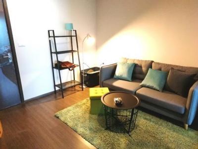 For RentCondoOnnut, Udomsuk : M1921-Condo for rent Ideo Sukhumvit 93 34sqm. 14th floor, Building B, 1bedroom, 1bathroom + washing machine @ 16000
