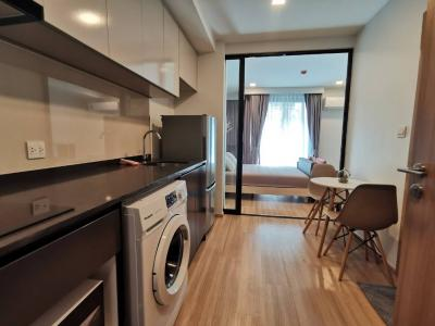 For RentCondoAri,Anusaowaree : 1 bedroom condo for rent (Real room image) Maestro 07 Victory Monument near BTS Victory Monument