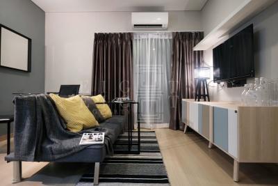 เช่าคอนโดพระราม 9 เพชรบุรีตัดใหม่ : For Rent Lumpini Suite Phetchaburi-Makkasan (33 sqm.)