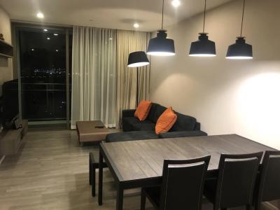 For RentCondoOnnut, Udomsuk : ++ Quick rent ++ Fully furnished ** The Room Sukhumvit 69 ** 2 bedrooms 82 sq.m. 19th floor