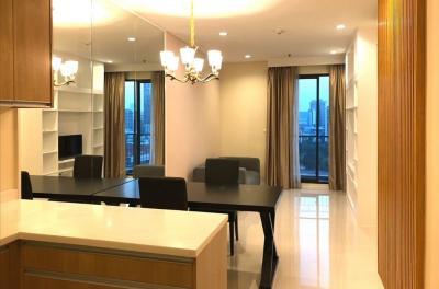 เช่าคอนโดพระราม 9 เพชรบุรีตัดใหม่ : ให้เช่าคอนโด 1 ห้องนอน วิลล่าอโศก VILLA ASOKE ใกล้ MRT เพชรบุรี 25,000 THB/m