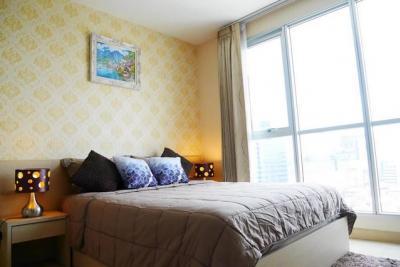 เช่าคอนโดรัชดา ห้วยขวาง : ให้เช่า ริทึ่ม รัชดา / RHYTHM RATCHADA ขนาดห้อง 38 ตารางเมตร 1 ห้องนอน ชั้น 17