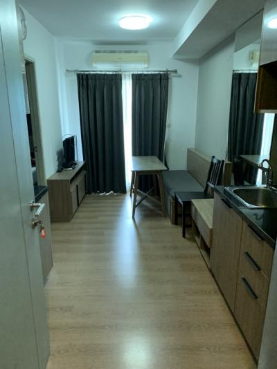 For RentCondoKasetsart, Ratchayothin : Rent chapter one Campus kaset, including furniture + appliances that can see everything in the room. Price 12000 Baht