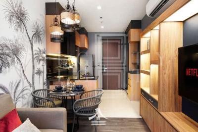 For RentCondoRama9, RCA, Petchaburi : For Rent The Line Asoke-Ratchada (35.12 sqm.)