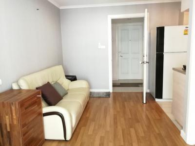 For RentCondoRama3 (Riverside),Satupadit : For rent, Condo Lumpini Park Riverside Rama 3. Building B, Floor 26, size 28 sqm.