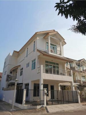 For SaleTownhouseRama3 (Riverside),Satupadit : 3-storey townhome for sale, Arun Phat Village, Rama 3 Opposite Bank of Ayudhya, head office, corner room 35 sq m, usable area 360.77 sq m. The latter is beautiful and ready. You can carry the bag and move in. Price 15,500,000 baht