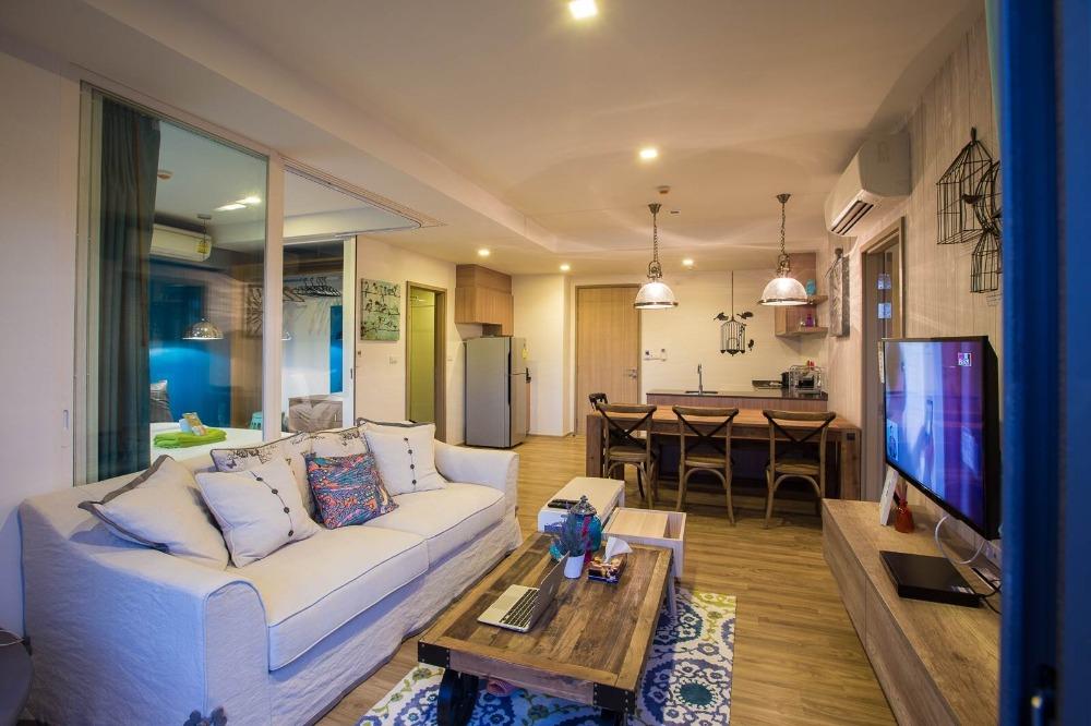 ขายคอนโดเพชรบุรี : ขายCondo บ้านแสนงาม หัวหิน 76.8 ตารางเมตร 2 นอน 2 น้ำ ติดทะเล