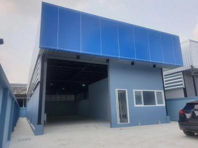 For RentWarehousePattanakan, Srinakarin : Warehouse for rent with office Soi Pattanakarn near Pattanakarn market