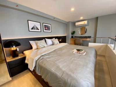 For RentCondoSathorn, Narathiwat : For Rent ** KnightsBridge Prime Sathorn, 1 Duplex, very nice decoration Ready to move in **