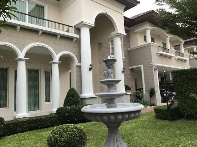 For RentHousePinklao, Charansanitwong : House for rent, Enrich Park Kanchanaphisek Village, Taling Chan, near Mahidol University