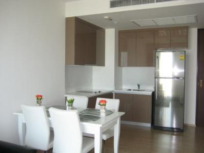 For RentCondoSukhumvit, Asoke, Thonglor : M0747-Condo for rent Siri at Sukhumvit, near BTS Thong Lor 52 sqm. Floor 24, 1 bedroom, 1 bathroom + washing machine @ 45,000