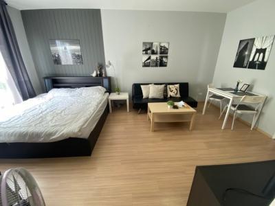 For SaleCondoLadprao 48, Chokchai 4, Ladprao 71 : A0024 For Sale BU Condo Chokchai 4 Studio, 4th Floor, Fully Furnished