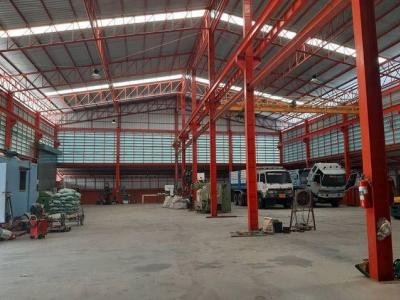 For SaleFactorySamrong, Samut Prakan : Sell and rent a factory, land area 1 rai, with certificate No. 4, Phra Samut Chedi District, Samut Prakan Province