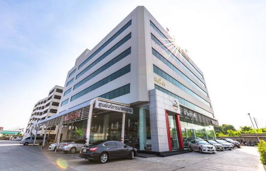 ขายสำนักงานรัชดา ห้วยขวาง : ขายอาคารสำนักงาน 6 ชั้น  8ไร่ ห้วยขว้าง