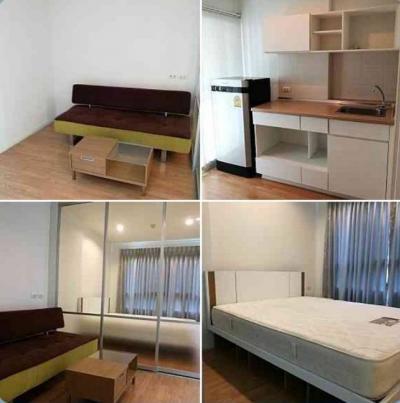 For RentCondoBangna, Lasalle, Bearing : Code 6229 for rent, Lumpini Ville Sukhumvit 109, Floor 5, Floor 5, Building b1.