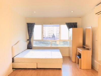 For RentCondoRamkhamhaeng, Hua Mak : For rent, Kondo, Lumpini Ramkhamhaeng 44 31 sqm, Floor 6, Building B 7,000 baht