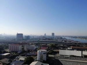 For SaleCondoRattanathibet, Sanambinna : (For Sale) The Politan Rive ** View of Chao Phraya River **