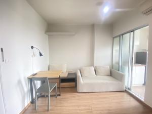 For RentCondoRamkhamhaeng, Hua Mak : Condo for rent at U Delight huamak 31 sqm, 10th floor, bedroom partition 9,500 baht 064-959-8900