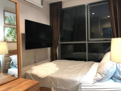 For RentCondoOnnut, Udomsuk : M1243-Condo for rent Ideo Mobi Sukhumvit 81 60 sqm. Floor 22-23 2 beds Duplex with washing machine @ 40000