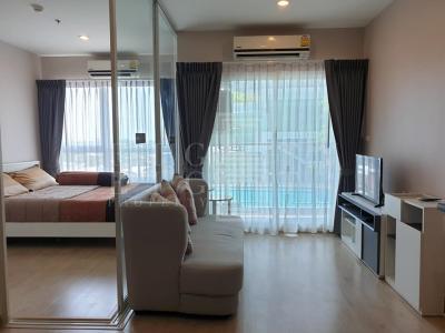 เช่าคอนโดท่าพระ ตลาดพลู : For Rent The Tempo Grand Sathon-Wutthakat (30 sqm.)
