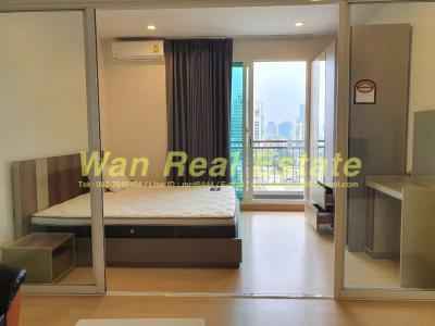 For RentCondoSathorn, Narathiwat : For rent, Condo Supalai Lite Ratchada-Narathiwat-Sathorn, 14th floor, size 35 sq.m.