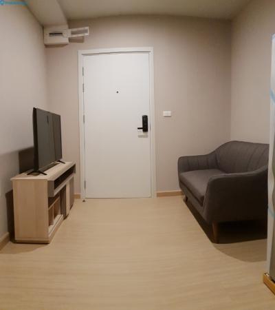 เช่าคอนโดอ่อนนุช อุดมสุข : M0943-ให้เช่าคอนโด เดอะทรี อ่อนนุช สเตชั่น 28ตรม.ชั้น5 1ห้องนอน 1ห้องน้ำ+เครื่องซักผ้า@13,000