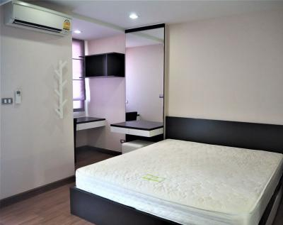 For RentCondoSukhumvit, Asoke, Thonglor : A0953 For rent Tree Condo Ekkamai size 40 sqm. * BTS Ekkamai