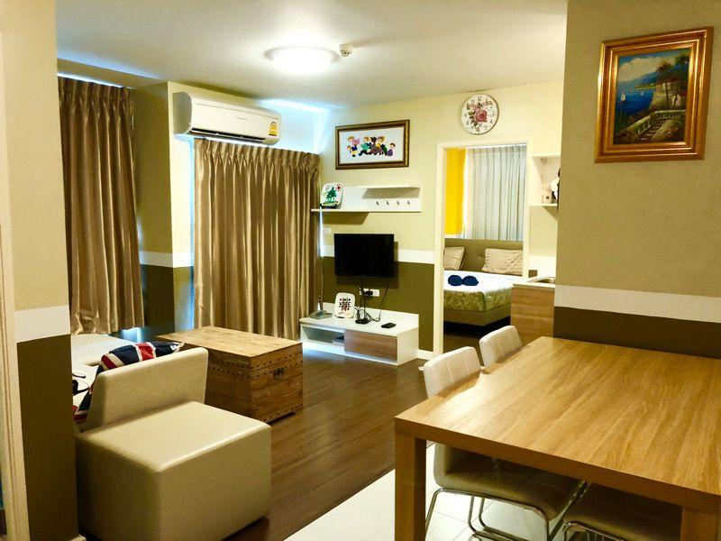 For SaleCondoHua Hin, Prachuap Khiri Khan, Pran Buri : For Sale Baan Imm-aim Hua Hin, 2 Bedroom, 5th floor (63-0312-45)