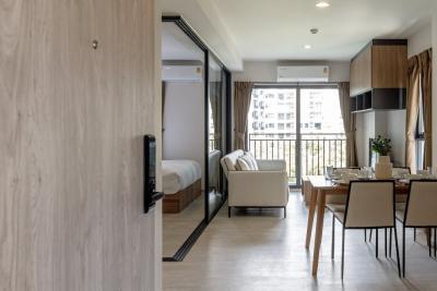 For RentCondoHua Hin, Prachuap Khiri Khan, Pran Buri : Condo for rent near Hua Hin beach, La Casita, fully furnished, central, starting at 12,000 baht / month *
