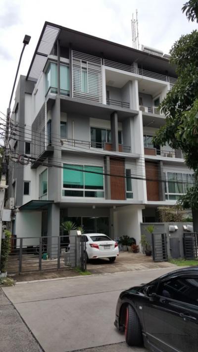For RentTownhouseRatchadapisek, Huaikwang, Suttisan : A0948 ++ RENT ++ Home Office Bee Square Rama 9-Mengjai Soi United Auction Size 410 sqm.