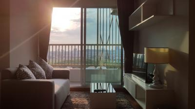 For RentCondoPattaya, Bangsaen, Chonburi : !!! The deposit is paid for 2 months !!! The Trust Condo South Pattaya Corner room / Sea view / Pool view