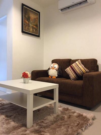 For SaleCondoOnnut, Udomsuk : M1349-Sale with tenant, Condo Aspire Sukhumvit 48, fully furnished! Fully furnished, ready to move in. @ 3,900,000