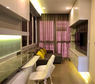 For RentCondoSukhumvit, Asoke, Thonglor : FOR RENT> 1 Bedroom 34 Sq.m @ 23,000 / Month - {Fully Furniture}