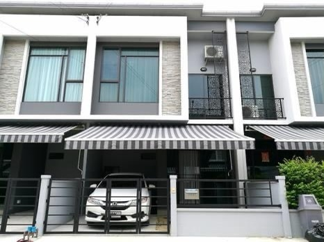 For SaleTownhouseBangbuathong, Sainoi : Sell or rent premium quality social townhome. with luxury club house Near BTS and Central Pleno Bangyai (very new)