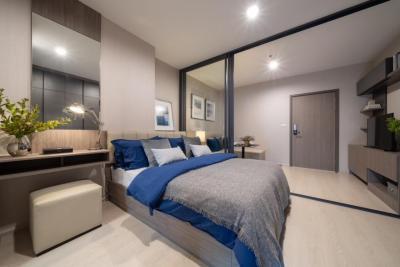 ขายคอนโดท่าพระ ตลาดพลู : Ideo Thaphra Interchange 28 sq.m. 2.69MB Full Fur
