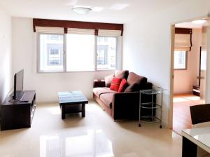For RentCondoOnnut, Udomsuk : M2250-Condo One Sukhumvit 52 for rent, spacious room + appliances + Furniture @ 15,000