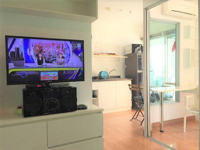 เช่าคอนโดคลองเตย กล้วยน้ำไท : [For Rent ให้เช่า] Aspire Rama 4, BTS เอกมัย, 1 ห้องนอน 28 ตร.ม., ชั้นสูง วิวแม่น้ำเจ้าพระยา