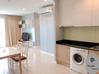 เช่าคอนโดพระราม 9 เพชรบุรีตัดใหม่ : P12CR2003035 Rent Circle Condominium 2 Bed 40,000