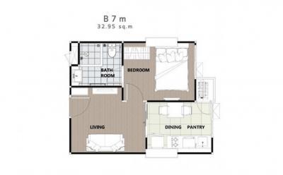 ขายคอนโดอารีย์ อนุสาวรีย์ : ขาย 1 นอน 33 ตรม ทิศเหนือ ตึกสูง วิวอารีย์ซอย 1 ไม่บล๊อก ห้องใหม่ เดิมเดิมจากโครงการ