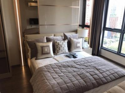 Sale DownCondoRatchathewi,Phayathai : express!!! The last room, high floor 34.5 sqm 5.49MB, fully furnished + free of charge on the day of transfer