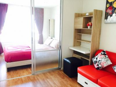 For RentCondoBang kae, Phetkasem : M2256-For Rent Condo LPN Park Fak Kasem 98. Beautiful room with appliances + furniture + washing machine.