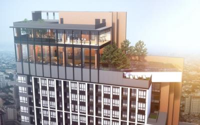 เช่าคอนโดลาดพร้าว เซ็นทรัลลาดพร้าว : ปล่อยเช่า คอนโดติด MRT ลาดพร้าว ชั้น 18 ห้องทิศตะวันออก 🚩 เดือนละ 13,000 Chapter One Midtown Ladprao (30 ตรม 1 Bedroom)