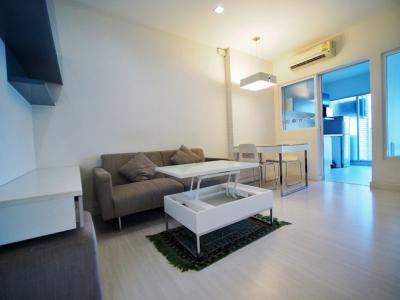 For RentCondoRatchadapisek, Huaikwang, Suttisan : [[Rent]] The room, Ratchada Ladprao, easy walk to MRT 13,500 baht