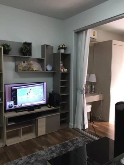 For RentCondoOnnut, Udomsuk : M2269-A condo for rent at A Space me Sukhumvit 77, nice room with furniture