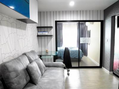 For SaleCondoBangna, Lasalle, Bearing : Condo for sale at Villa Lasalle, Sukhumvit 105, BTS bearing 28.5 sqm. Corner room 2.35 million