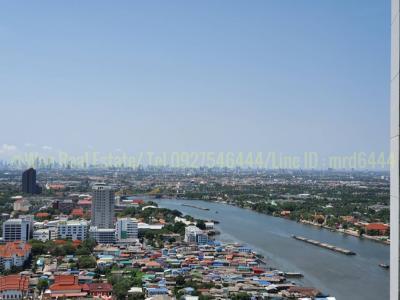 เช่าคอนโดรัตนาธิเบศร์ สนามบินน้ำ : ให้เช่าคอนโด politan rive ชั้น 41 ขนาด 25 ตร.ม. วิวแม่น้ำ สวย พร้อมอยู่