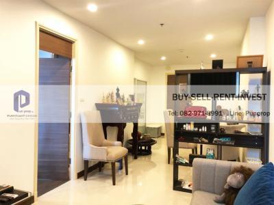 For SaleCondoRama3 (Riverside),Satupadit : ขายคอนโดติดแม่น้ำ ศุภาลัย พรีมา ริวา พระราม 3 1 นอน 59.95 ตรม. ชั้น 18 วิวแม่น้ำ 5.1 ล้าน