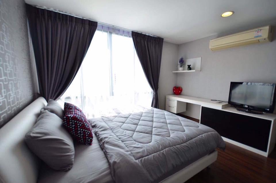 For RentCondoOnnut, Udomsuk : For rent, D 65 D 65 Condo, 3 bedroom 107 sqm., 7th floor, near BTS Ekkamai, Phra Khanong.